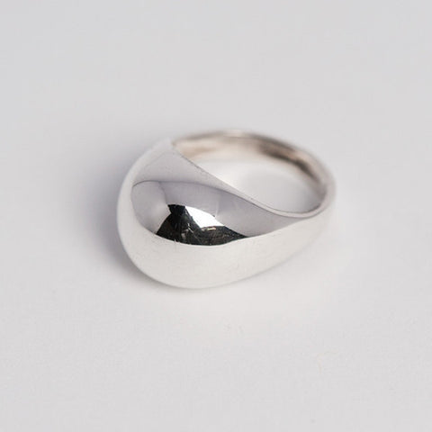 Bulle Ring / sterling silver, polished