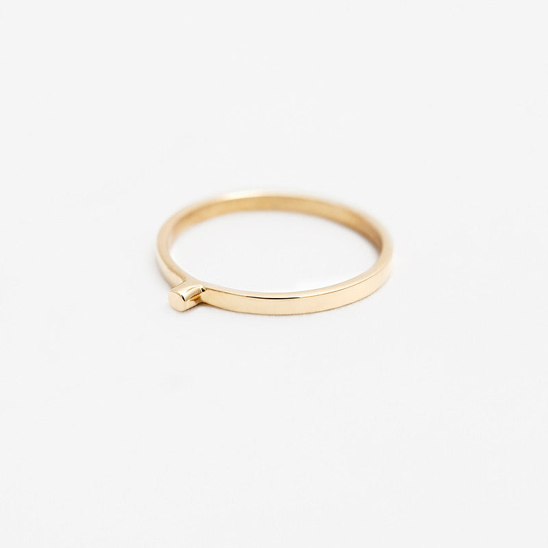 14k Gold OLIVER II Ring
