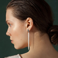 INES Silver Earrings