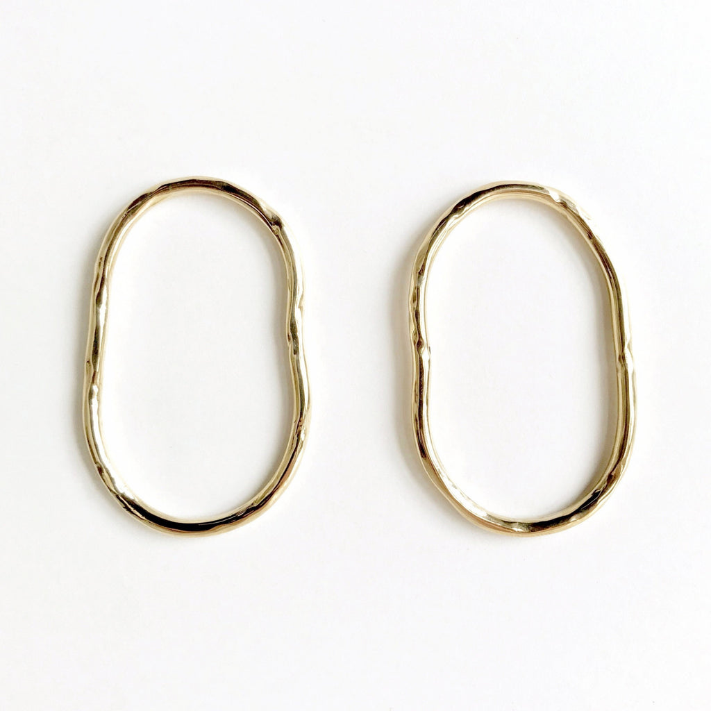 VERA Brass Earrings by PAUZE atelier