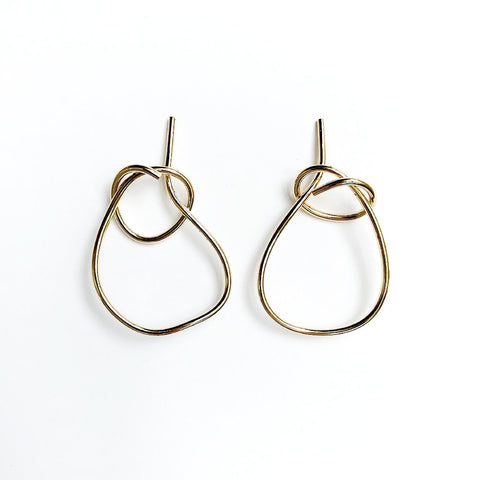 GEORGIA Brass Earrings
