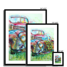 Load image into Gallery viewer, Retired Framed & Mounted Print