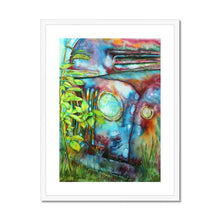 Load image into Gallery viewer, Framed Wall Art white frame