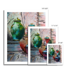 Load image into Gallery viewer, Pots Of Colour Fine Art Print