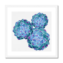 Load image into Gallery viewer, Framed art print white frame