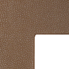 Mat leather look