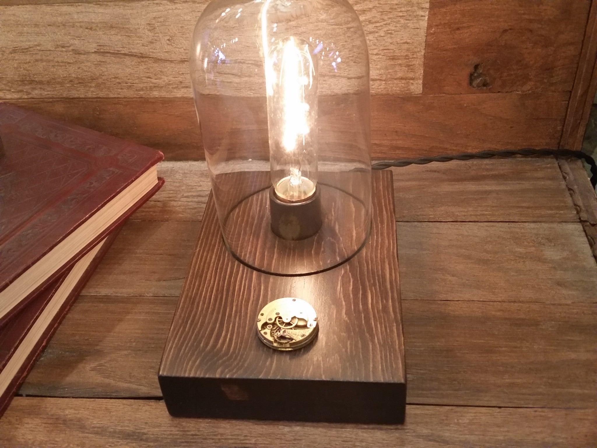 Delightful Dome Touch Sensor Lamp ~ Vintage Time Piece
