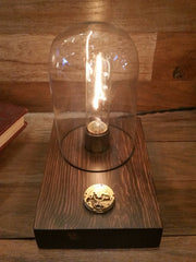 Dome Touch Sensor Lamp ~ Vintage Time Piece