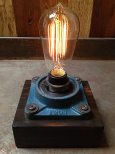 Industrial Cast Iron Touch Sensor Lamp