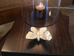Dome Touch Sensor Lamp ~ Butterfly