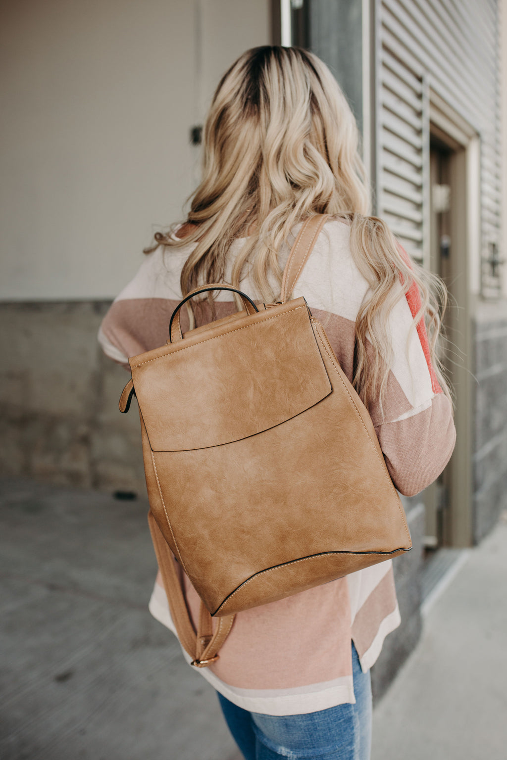 Zen Backpack - Taupe