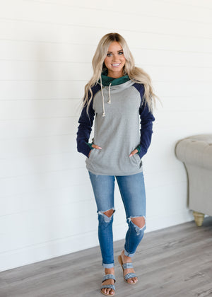 Baseball DoubleHood™ Sweatshirt - Ivy League