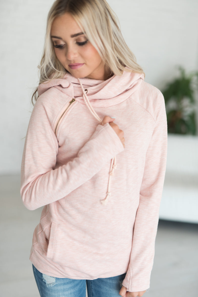 DoubleHood™ Sweatshirt - Blush