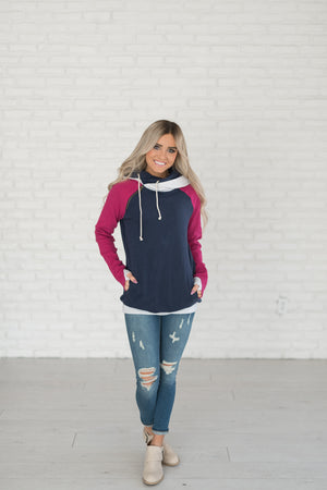 DoubleHood™ Sweatshirt - Bungalow Rose