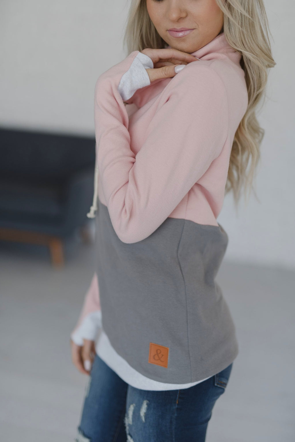 CowlNeck Sweatshirt - Love Affair