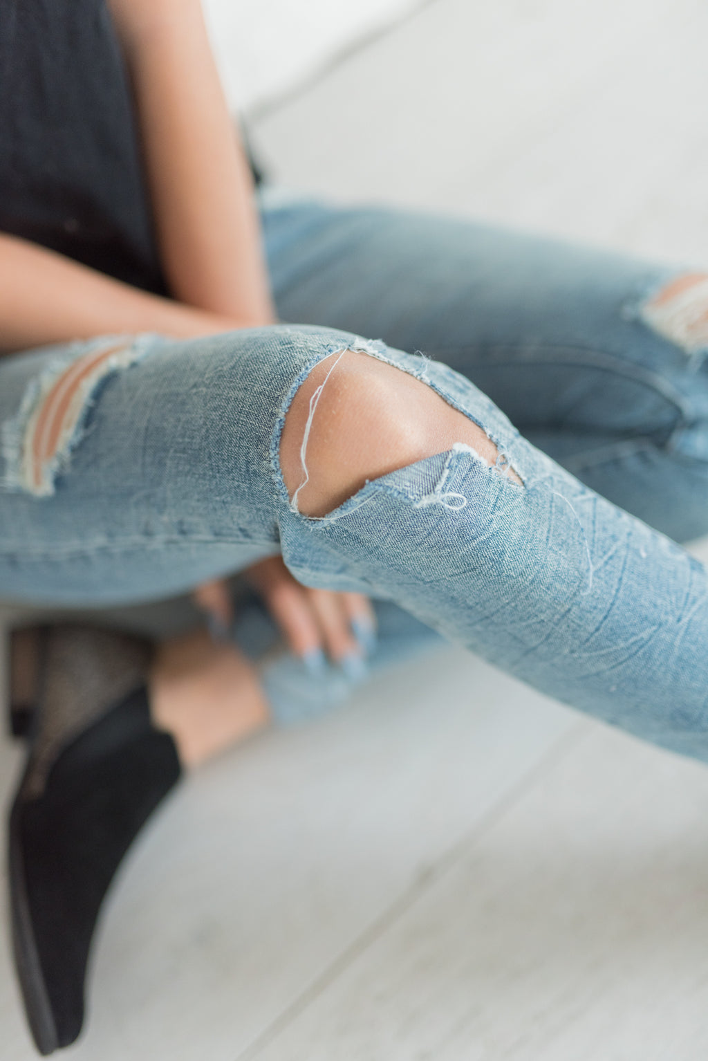 Ampersand 408 Vintage Wash Denim