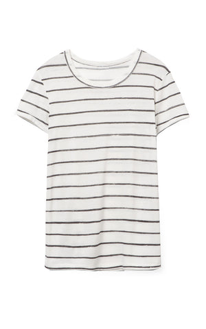 Distressed Stripe Tee