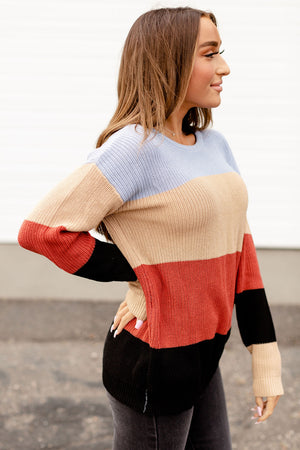 Paige Sweater - Blue