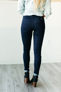 Sandy High Waisted Skinny Jeans