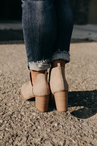 Acton Bootie - Taupe
