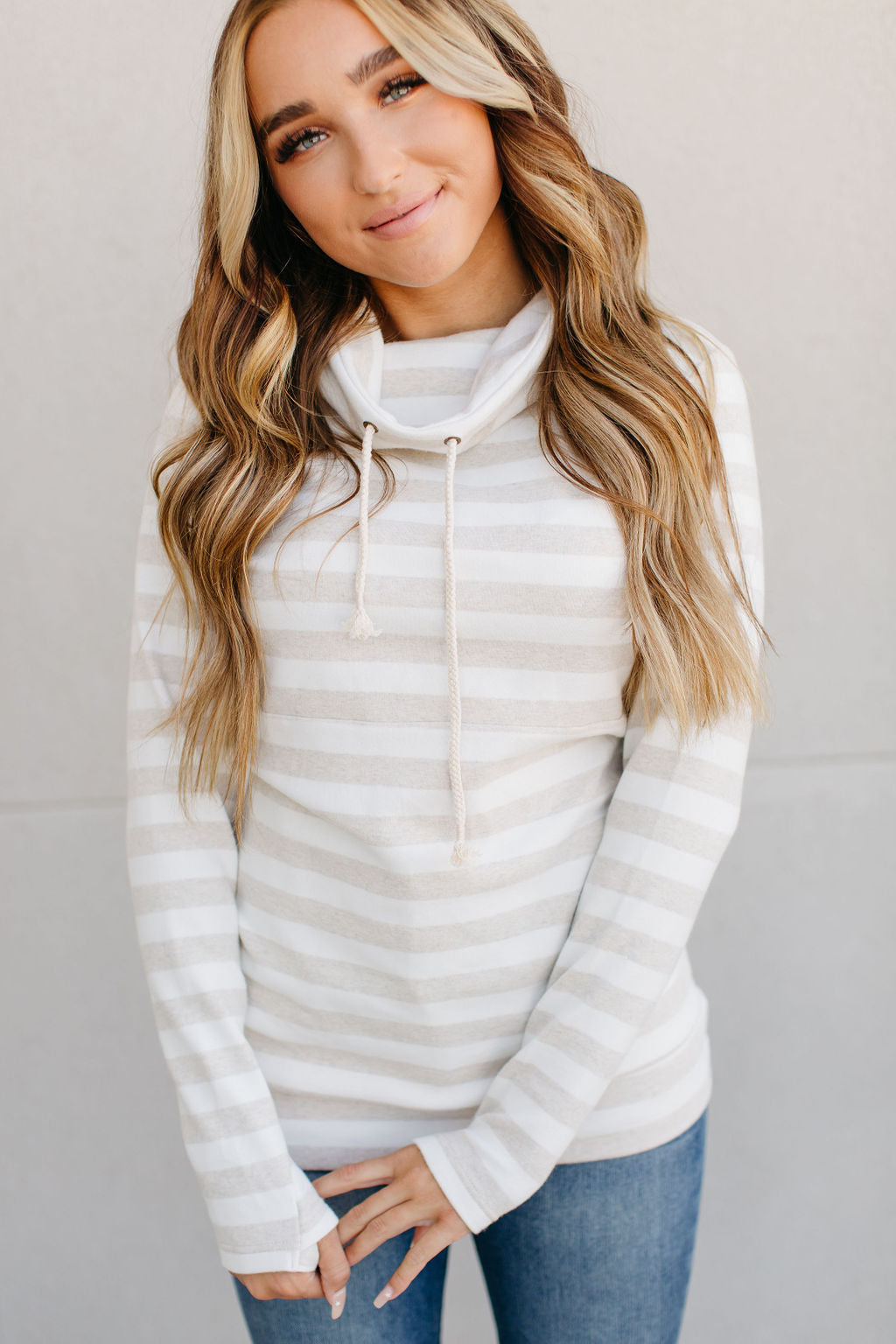 CowlNeck Sweatshirt - Naturally Needed