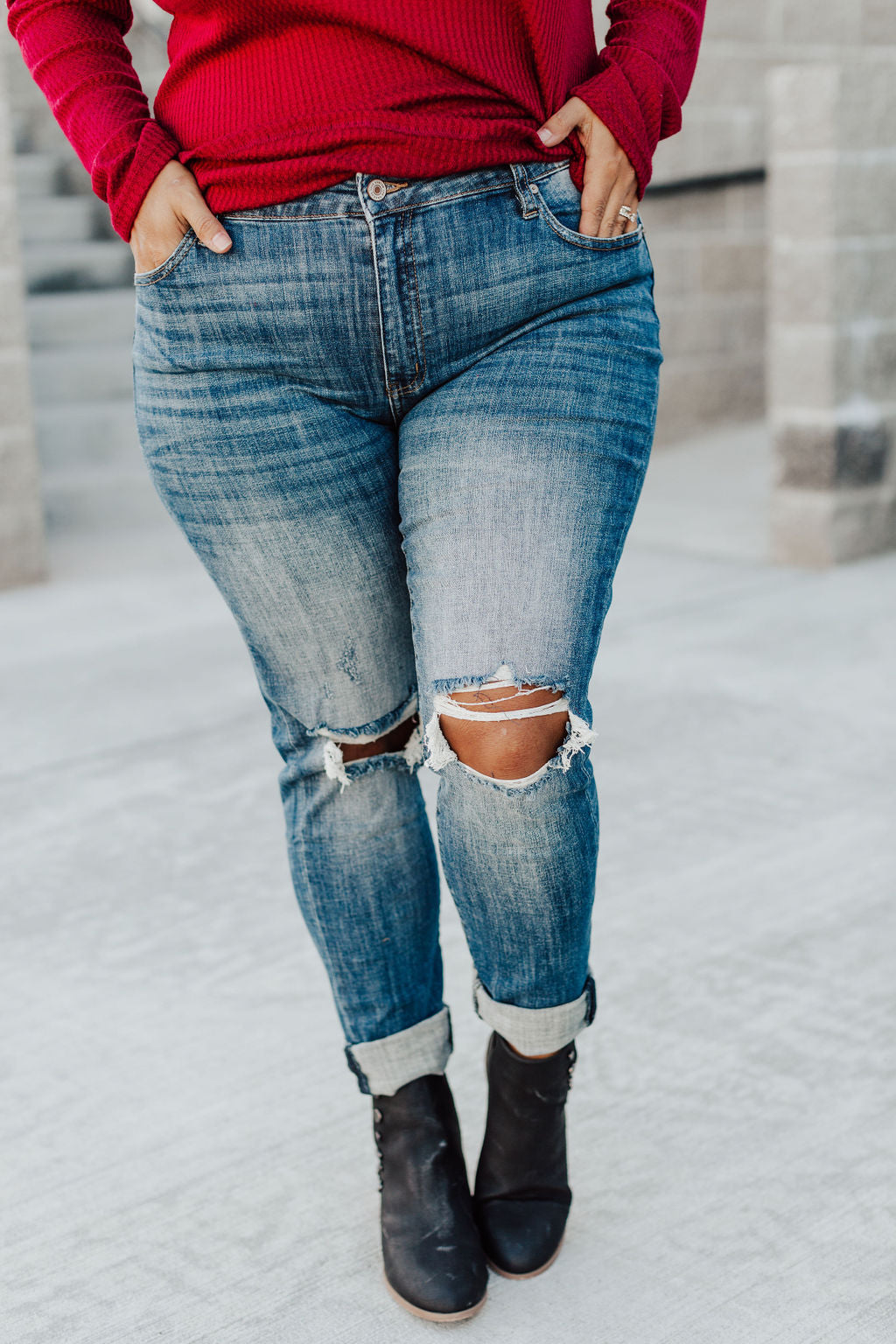 Blake Double Cuff Jeans