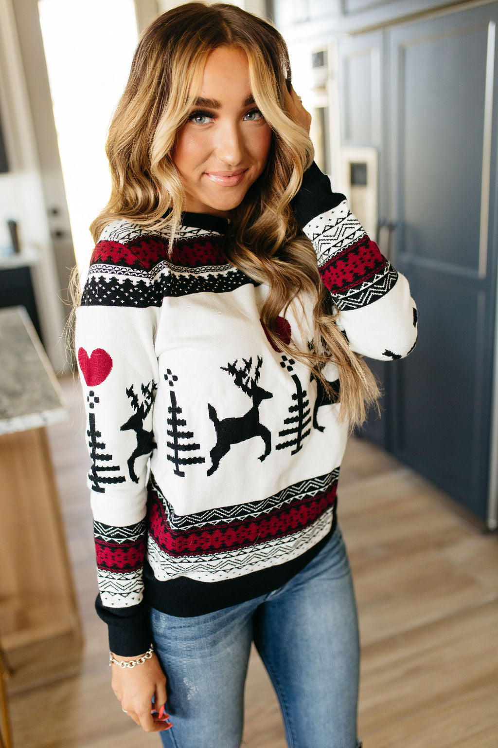 Believe Pullover Sweater