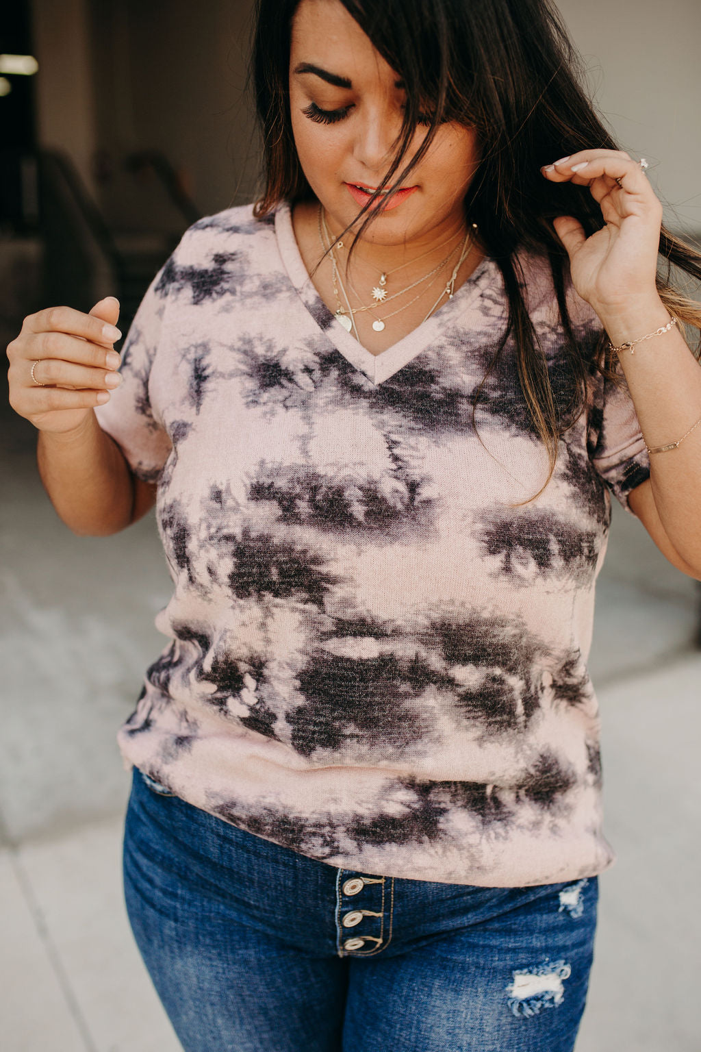 All The Feels Tie Dye Tee