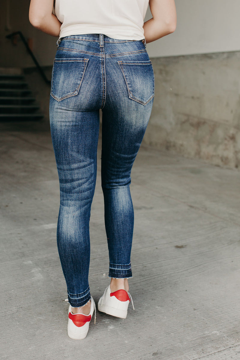 Delphi Button Fly Jeans