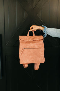 Lennon Backpack - Rose Blush