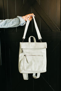 Lennon Backpack - Dove Grey