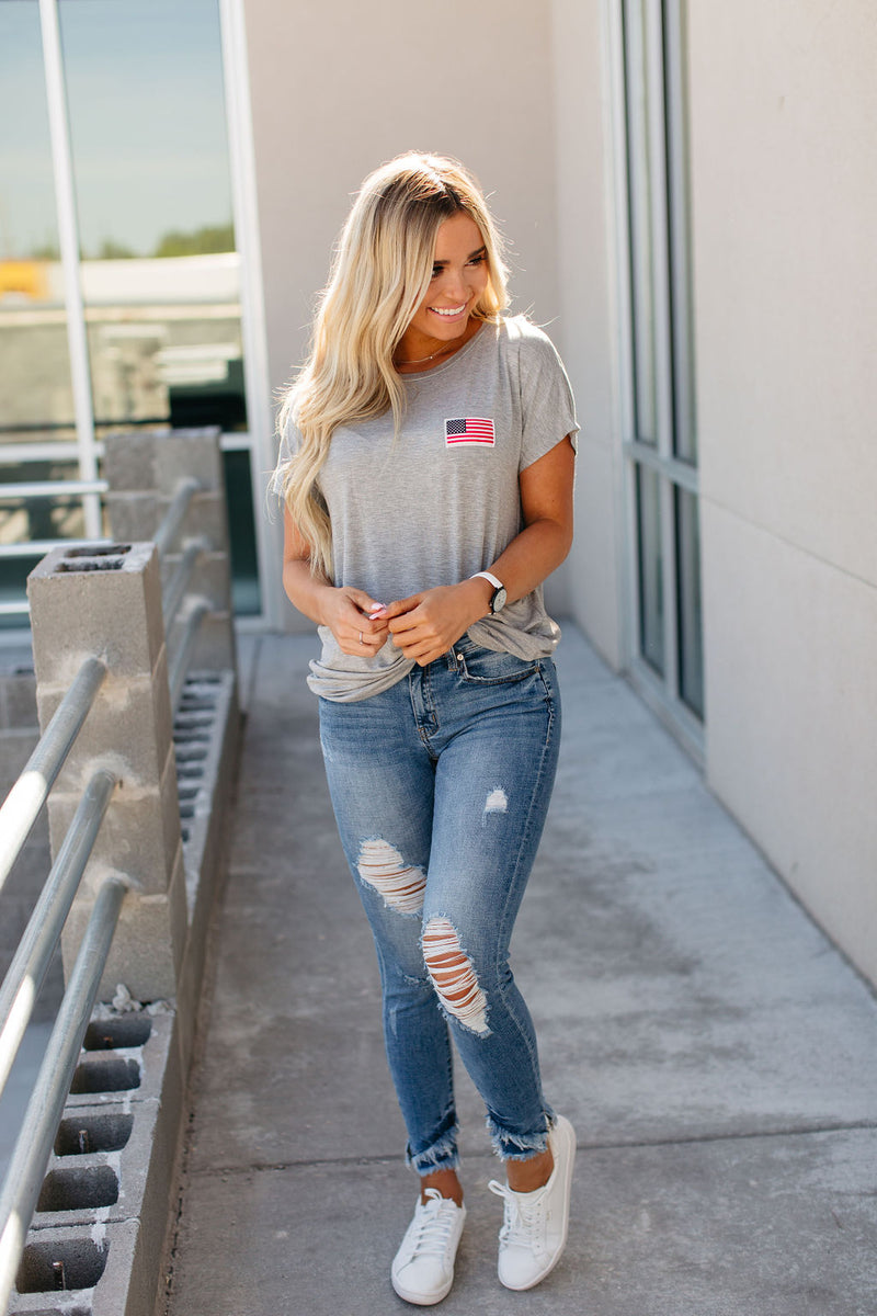 Flag Patch Tee