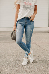 Crawford Distressed Jeans