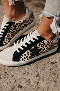 Pulse Sneakers - Leopard Glitter