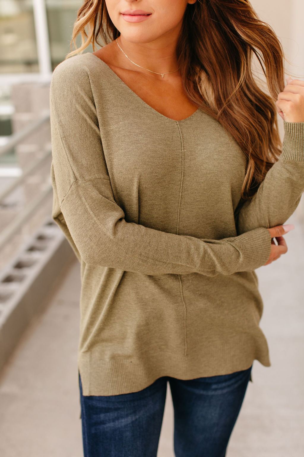 Dreamer Sweater - Olive