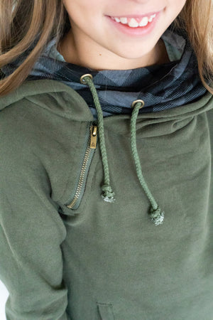 Youth DoubleHood™ - Evergreen Buffalo