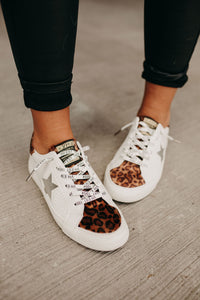 Hyped Up Sneakers - Leopard