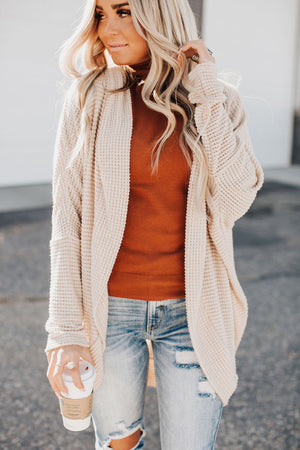 Breakfast in Bed Cardigan - Cream