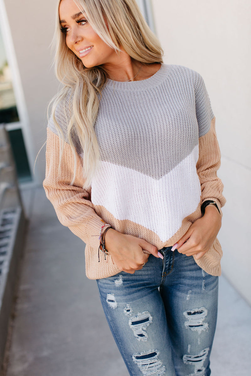 Alex Colorblock Sweater
