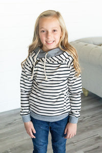 Youth DoubleHood™ - Tan Stripe