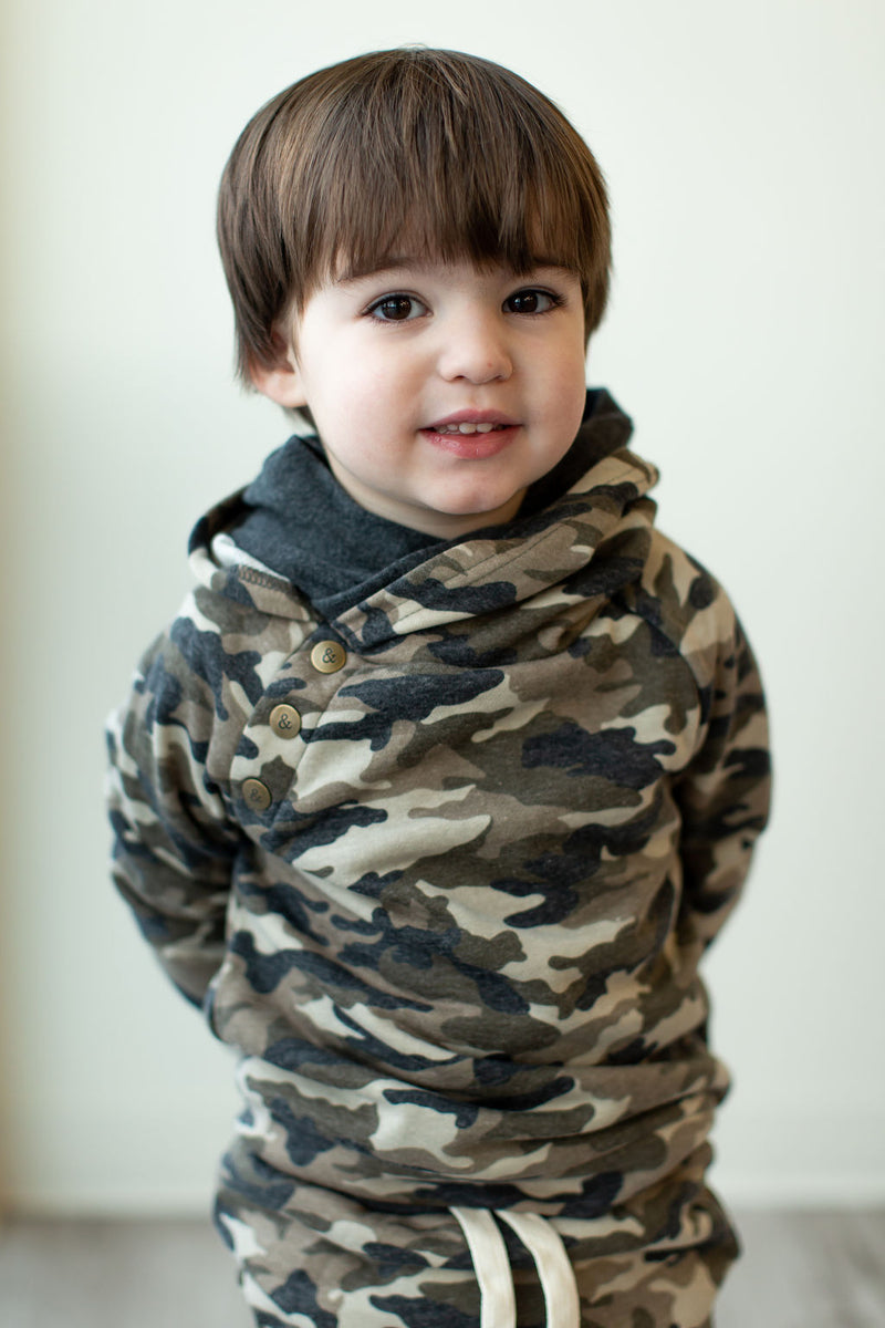 Kids - Camo All Over DoubleHood™
