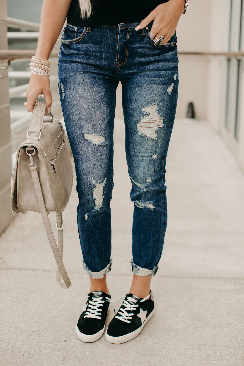 Devin Distressed Jeans