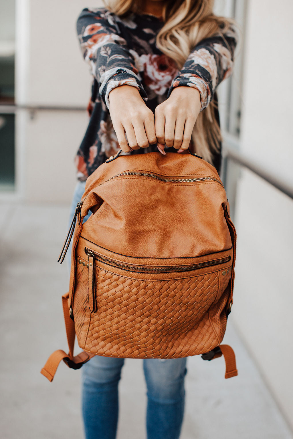 Back & Forth Backpack - Cognac