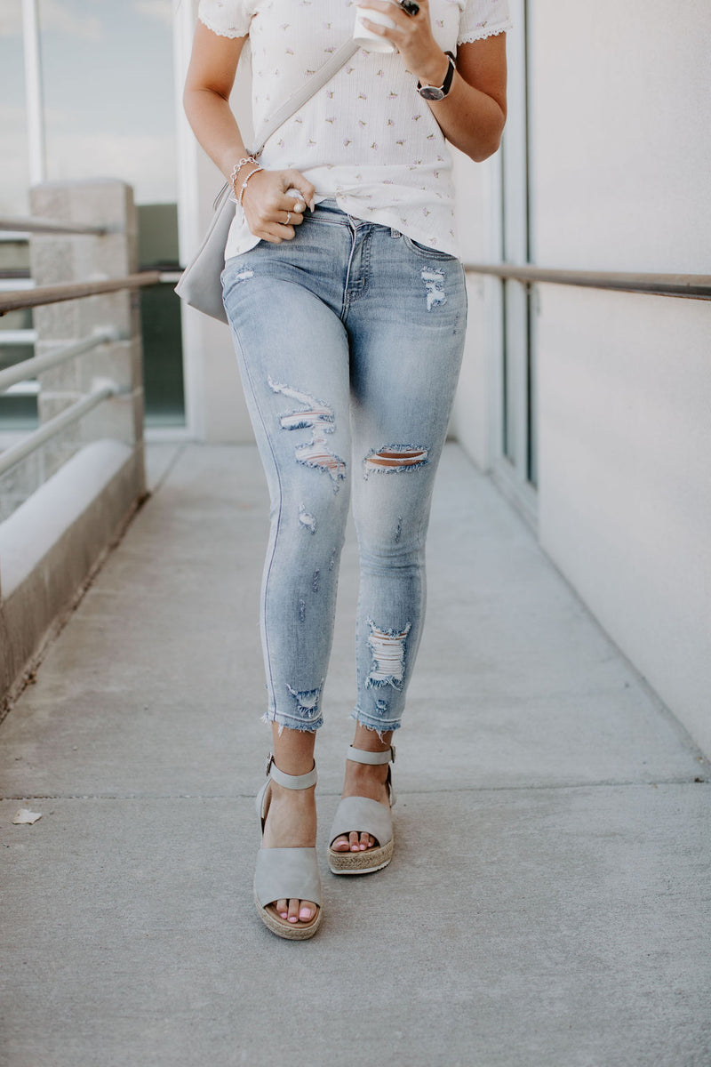 Memphis Distressed Jeans