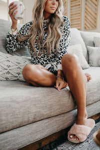 Living In Leopard Lounge Set