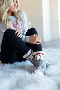 Cabin Sherpa Lounge Slipper Socks