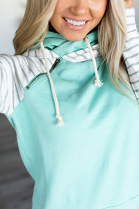 Baseball DoubleHood™ Sweatshirt - Mint to Be