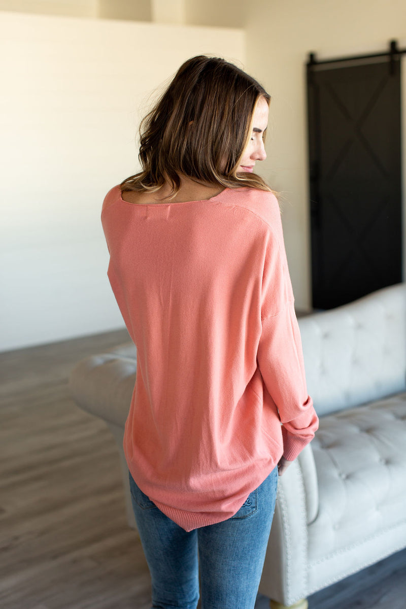 Dreamer Sweater - Coral