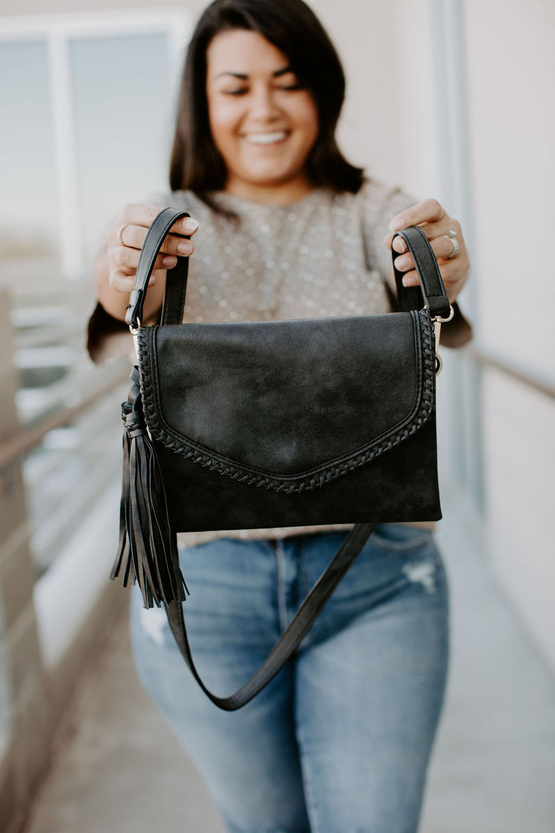 Sloane Crossbody - Black