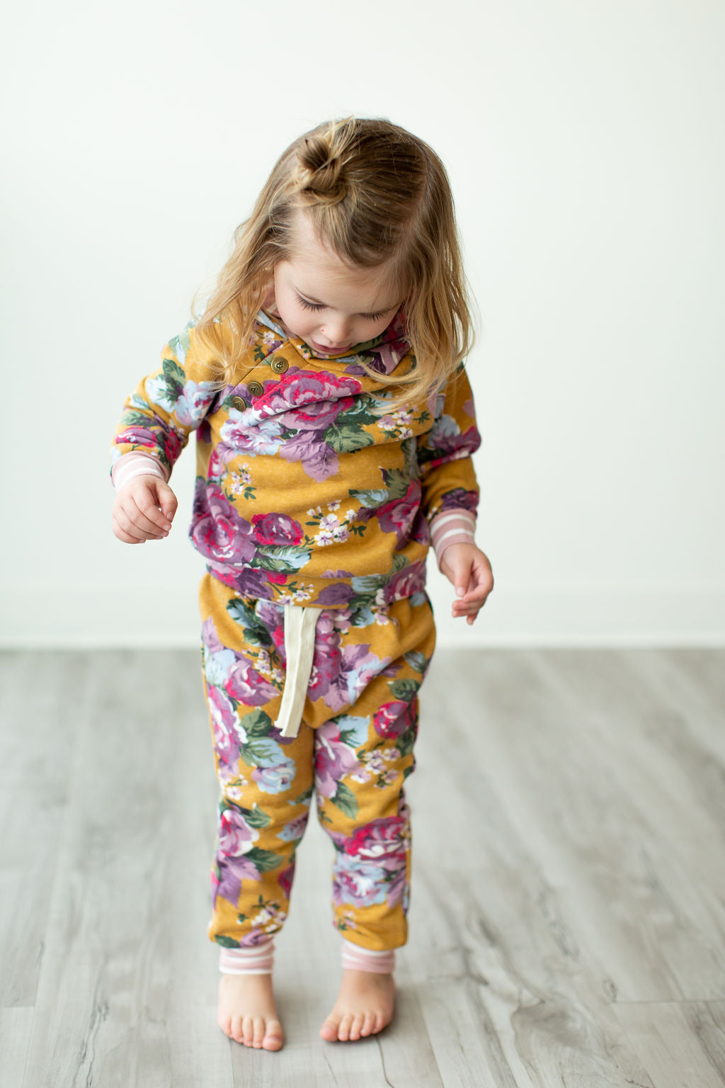 Kids - Blooming Floral Joggers